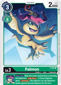 1x Palmon - P-032 Digimon Digimon Promos NM Regular