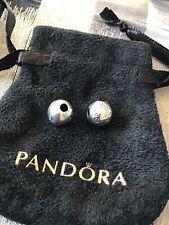 Two (2) New Genuine Pandora Silver S925 ALE Logo Clip 791015