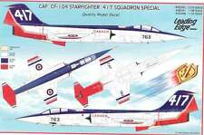 Leading Edge 72.041 CAF CF-104 Starfighter 417 Squadron Special Decal Sheet
