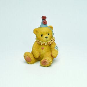 Cherished Teddies Enesco Mini Circus Clown Bear Resin Figurine 1998