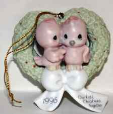 Our First Christmas Together Dated 1995 Precious Moments Ornament #142700