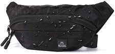 Black Large Fanny Pack for Men Women Plus Size Waist Waterproof, Gym Outdoor Fas