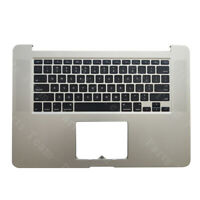 "New For Macbook Pro Retina 15"" A1398 2012 Top Case Palmrest & keyboard 661-6532"