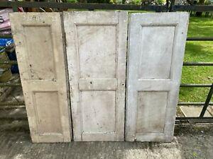 Vintage Wooden Window shutters x 3