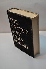 Ezra Pound ~ The Cantos of Ezra Pound (1-95)  1956 ~ Hardcover