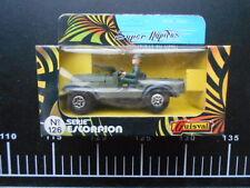 super rapidos miniaturras en metal guisval serie escorpion 126 jeep militar