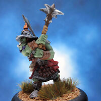 Painted Chainmail Miniature Orc Trooper