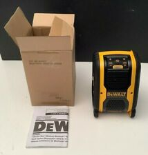NEW - Genuine DEWALT Bluetooth Speaker DCR006 20V 12V Worksite Jobsite Radio