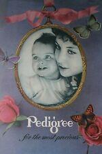 Vintage pedigree pram Catalogue 1965 ; colour archive copy from original