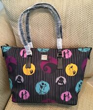 NWT DOONEY AND BOURKE DISNEY PARKS NIGHTMARE BEFORE CHRISTMAS LARGE TOTE PURSE