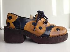 Glam Rock 1970s Vintage Shoes for Women