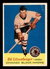 E. C. LITZENBERGER 57-58 TOPPS 1957-58 NO 26 EX+ 15488