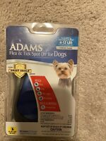 Adams Flea and Tick Spot On For Dogs With Smart Shield Applicator 6-12 Lbs