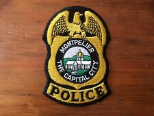 United States VERMONT State Police patch MONTPELIER Police