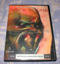 In The Studio With JOSHUA CARLTON TATTOO Gun DVD Kit Flash Machine Ink Set