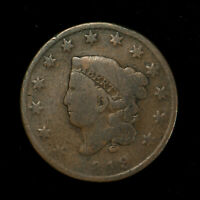 1819 CORONET HEAD 1C LARGE CENT ** EARLY AMERICAN COPPER Lot#X267