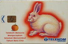 Malaysia Used Phone Cards - The Year of The Rabbit