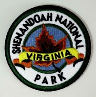 Shenandoah National Park Virginia Embroidered Iron/Sew-On Patch Travel Souvenir