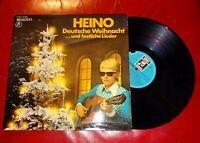 """12"""" HEINO Deutsche Weihnacht …und festliche Lieder GUTER ZUSTAND TOP"""