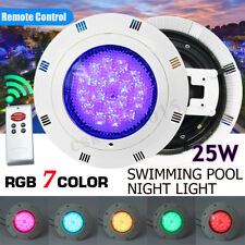 LED Underwater Swimming Pool Light Show Fountains Lamp Pond Light RGB 5