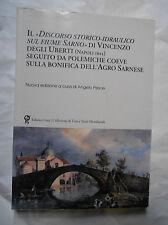 Discorso storico-idraulico sul fiume Sarno Degli Uberti Scafati Napoli borbonica