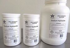 Sodium Hydroxide 98% Pure Microbeads 1 Lb Caustic Soda, Lye Fcc/ Food Grade 7023