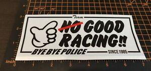 No Good Racing sb jdm japan nsx sti evo toyota r34 civic nsx reflective decal US