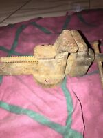 Vintage Columbian Bench Vise Cleveland Ohio USA Made Number 143