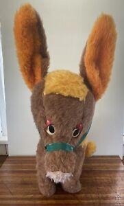 Vintage Donkey Large Plush Toy