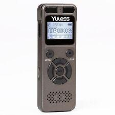 8 GB Grabador de audio profesional de negocios Portátil Grabadora Digital De Voz Usb Sup