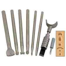 Punzierset Basis mit Drehmesser Punzieren Punziereisen