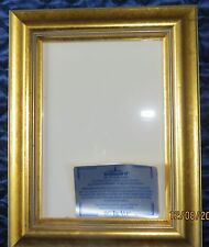 TRUGUARD GOLD PICTURE FRAME HOLDS 5 X 7 PICTURE