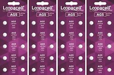 LOOPACELL AG5 393 LR754 Alkaline Button Cell Batteries x 40