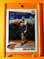 Zion Williamson NBA HOOPS TRIBUTE ROOKIE SPECIAL WINTER 2019-20 RC #296 - Mint!
