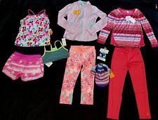 Gymboree Gymgo  lot 9 pcs Active Sport Girl top,Jacket, Leggings M 7 8