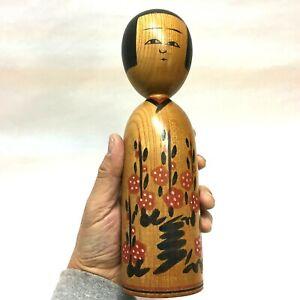 24.3cm Sasaki-Haruo(1931-2017) Japan Kokeshi No.R0121 Relatively good condition