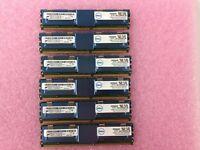24GB Kit (6x 4GB) Micron 2RX4 PC2-5300F-555-12-E0 MT36HTF51272FZ-667H1D6