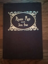 Derren Brown Absolute Magic 1st Edition - Hand Signed! Incredibly Rare Book!