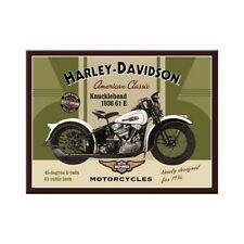 Harley Davidson Magnet Knucklehead Souvenir Kühlschrank Fridge 8cm