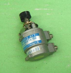 1pcs TAMAGAWA URA-0021L-02 0-3GHz  SMA 1dB 50Ω Step Variable Attenuator