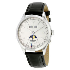 Montblanc Heritage Chronometrie Silvery White Dial Automatic Mens Watch 112538