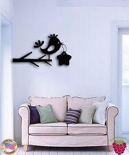 Wall Sticker Branch Bird Star Tree Modern Decor for Bedroom z1357