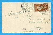 1937 MESSAGGERE/CAMPOBASSO-CAIANELLO-NAPOLI guller su c.10 COLONIE ESTIVE(501765