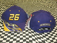 Jamie McMurray #26 Purple Element NASCAR Hat by Chase Authentics! NWT! 34H