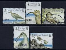 2005 PITCAIRN ISLANDS BIRDS: CURLEW SET OF 5 FINE MINT MNH