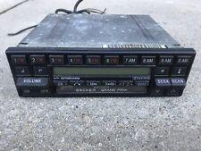 MERCEDES BENZ BECKER GRAND PRIX 780 BE0780 RADIO CASSETTE PLAYER  rare!