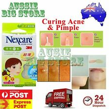 36 Pcs Nexcare 3M Acne Dressing Pimple Sticker Inflamed Zit Heal Patch Thin TW