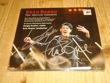 Signed by Signiert von SERGEY KRYLOV & EZIO BOSSO The Venice Concert SONY CD NEW
