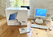 """Immaculate Condition Apple iMac G4 15"""" 800 MHz PowerPC Model 4,2 2002 With Box"""