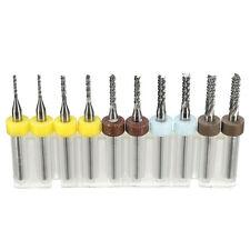 FRESE KIT SET Mini PCB Carbide STRUMENTO Estremità CNC taglio bit con scatola